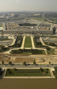 Pentagon Aerial by Andy Dunaway